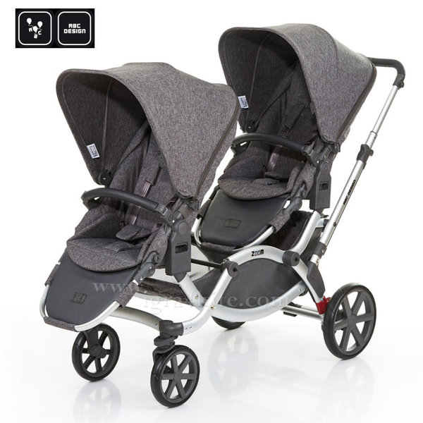 ABC Design - Комбинирана количка за близнаци Zoom track