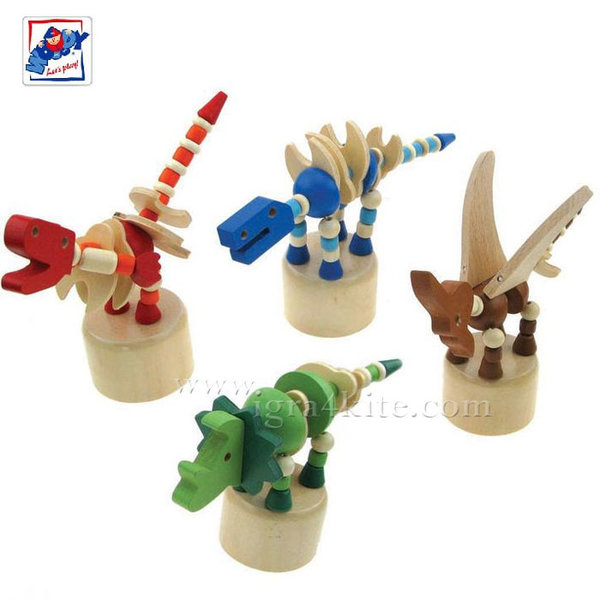 Woody - Дървени мини динозаври 91134