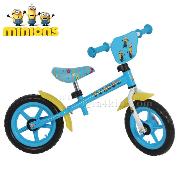 "Minions - Метално колело за баланс 12"" Миньоните 446"
