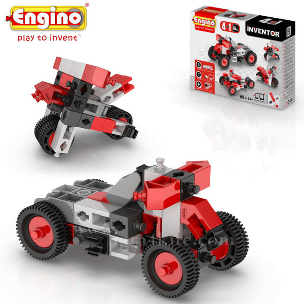 Engino - Конструктор 4 модела мотори 0432