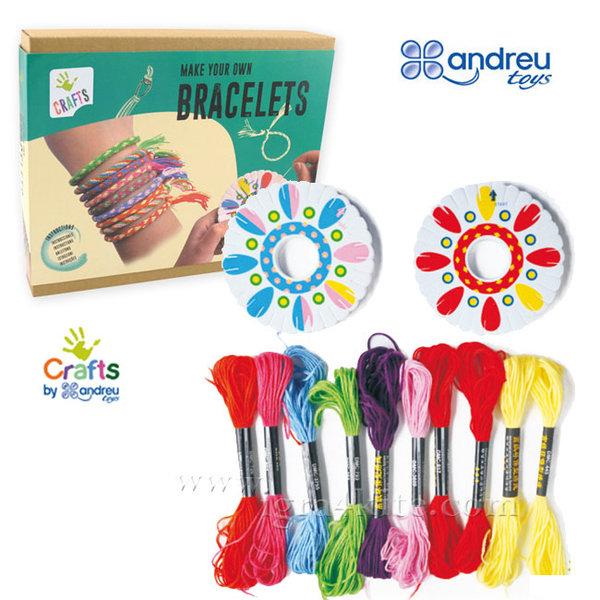 Andreu Toys - Комплект за плетене на гривни 1210072