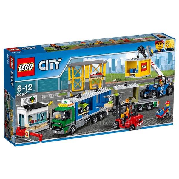 Lego 60169 City - Товарен терминал