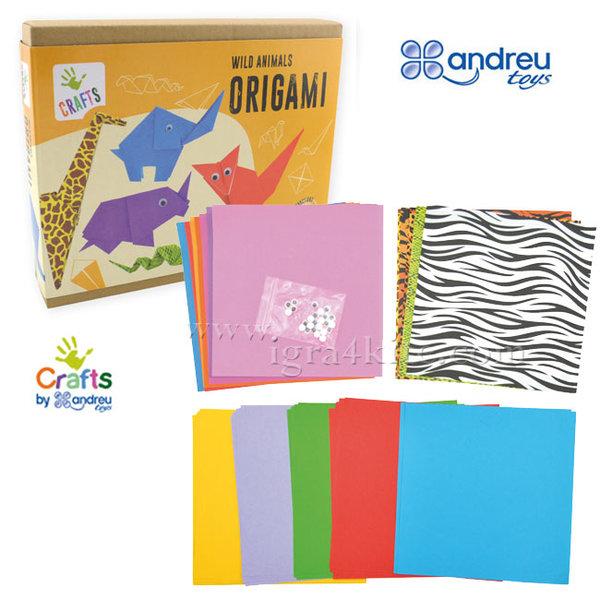Andreu Toys - Направи оригами Диви животни 1250162