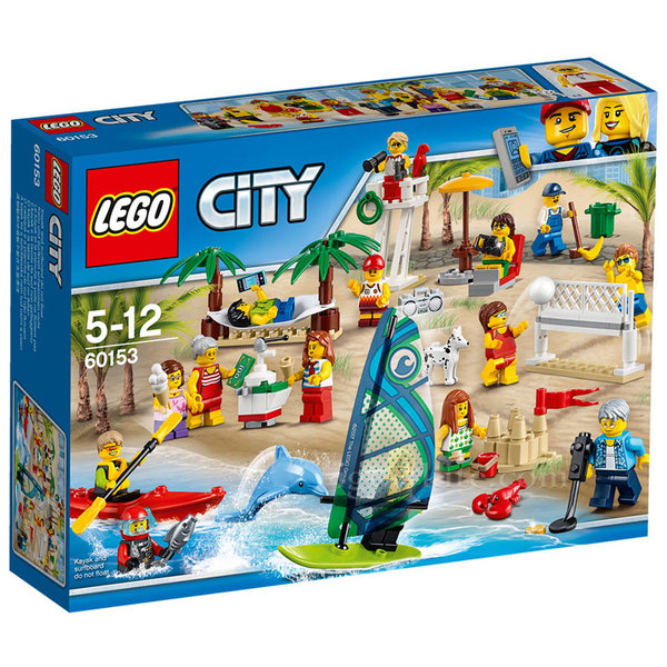 Lego 60153 City - Пакет с хора Забавление на плажа