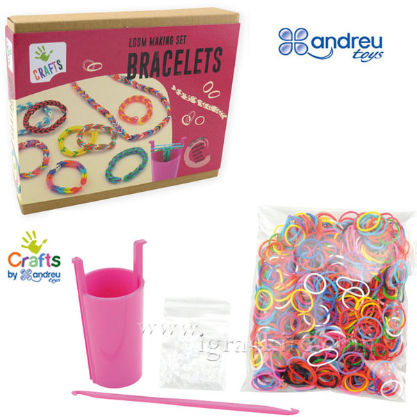 Andreu Toys - Направи гривни от ластици 1270201