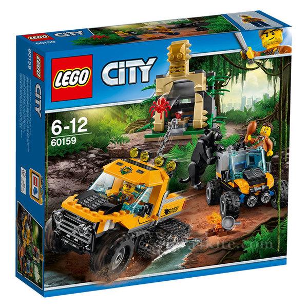Lego 60159 City - Джунгла Мисия за джип с вериги