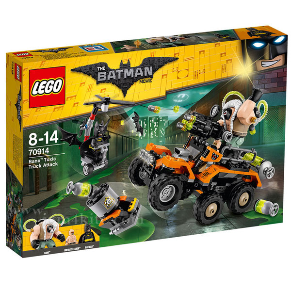 Lego 70914 Batman - Нападение с токсичния камион на Бейн™