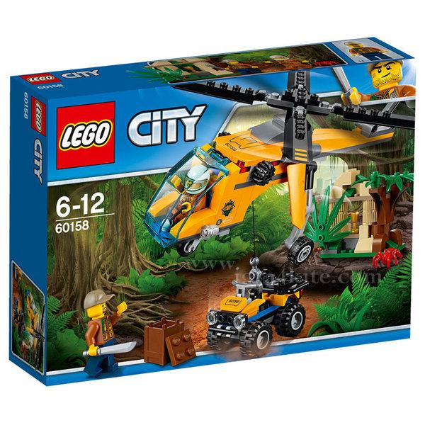 Lego 60158 City - Джунгла Товарен хеликоптер