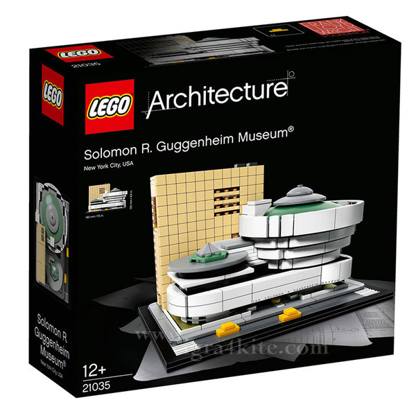 Lego 21035 Архитектура - Музеят Соломон Гугенхайм, Ню Йорк