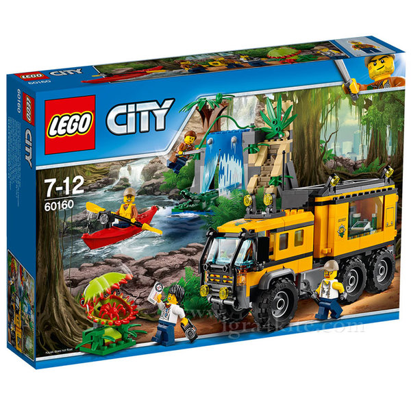 Lego 60160 City - Джунгла Мобилна лаборатория