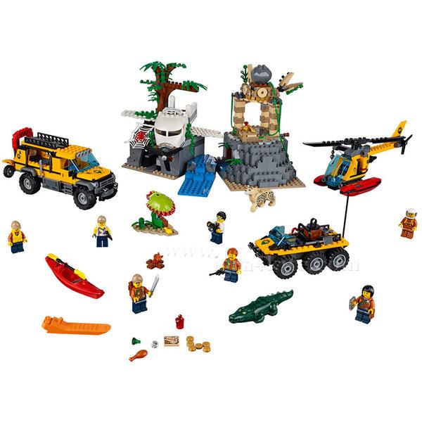 Lego 60161 City - Джунгла Място за изследвания