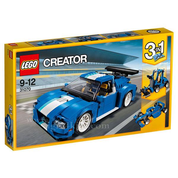 Lego 31070 Creator - Турбо състезателен автомобил