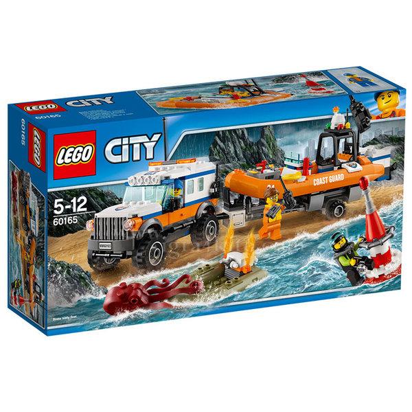 Lego 60165 City - Спасителен екип за реакция 4x4