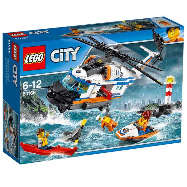 Lego 60166 City - Тежкотоварен спасителен хеликоптер