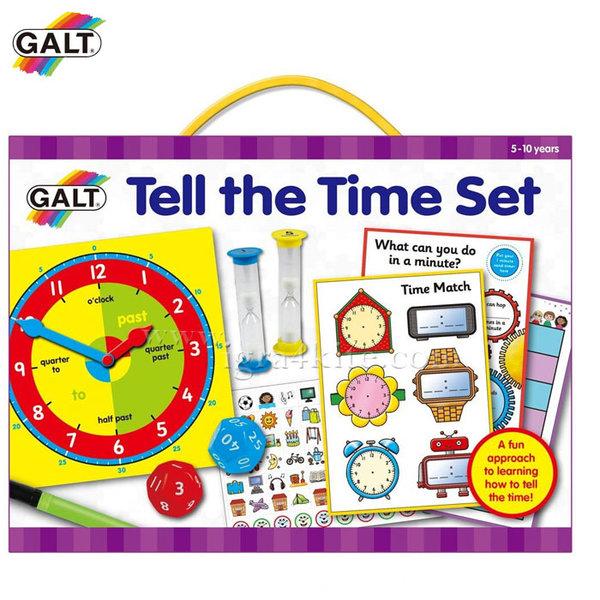 GALT - Забавен комплект Колко е часът 1105446