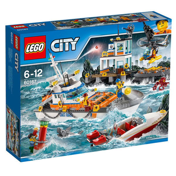 Lego 60167 City - Щаб на бреговата охрана