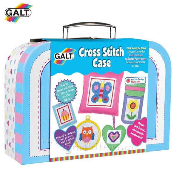 GALT - Комплект за бродиране в куфарче 1004798