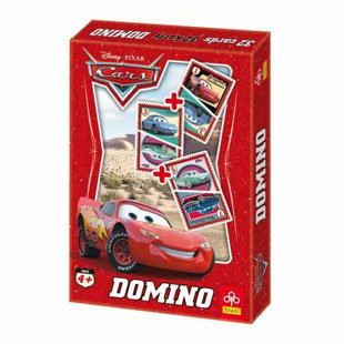 Домино карти - Disney Cars Колите