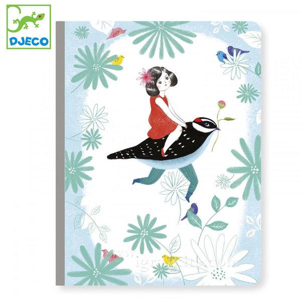 Djeco - Lovely paper Бележник A5 Чичи 03556