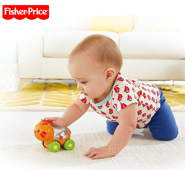 Fisher Price - Играчка за бутане Тигърче bgx29