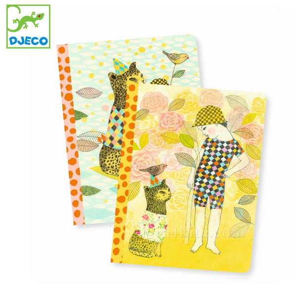 Djeco - Lovely paper Комплект бележници Елоди 03583