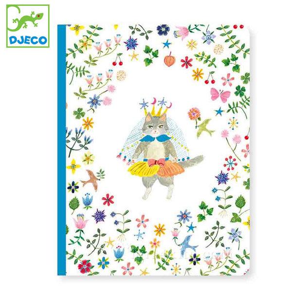 Djeco - Lovely paper Бележник A5 Айко 03553