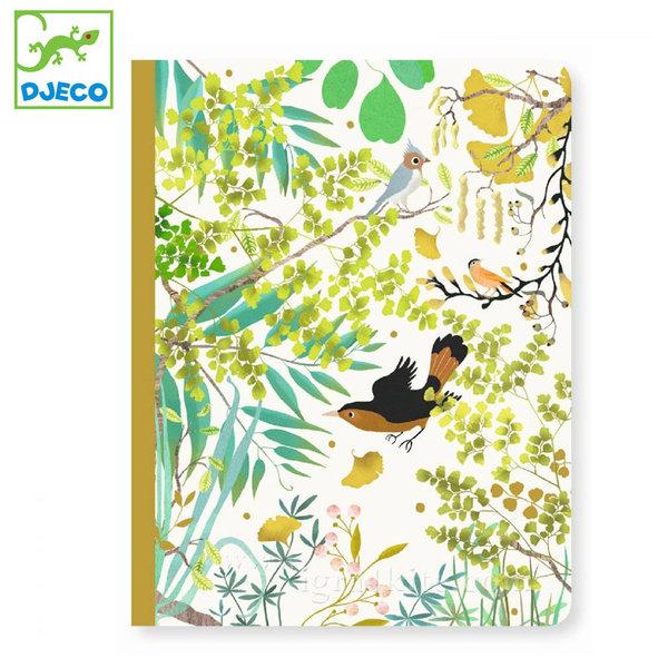 Djeco - Lovely paper Бележник A5 Тино 03551