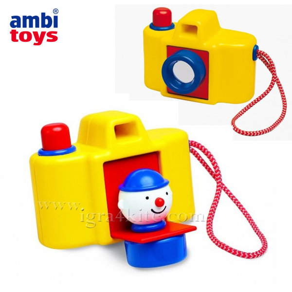 Ambi Toys - Бебешки фотоапарат Клоун 31145