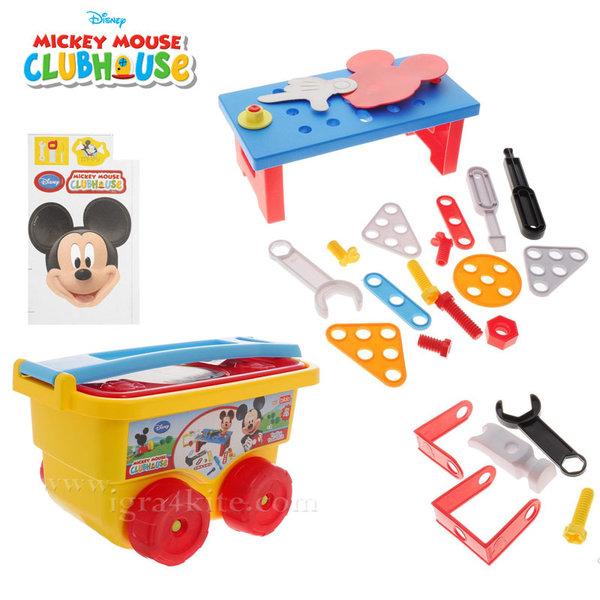 Disney Mickey Mouse - Количка с инструменти Мики Маус 8403