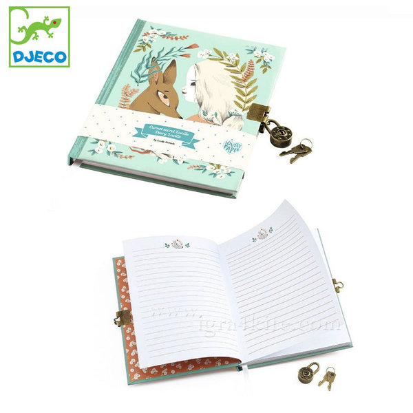 Djeco - Lovely paper Таен дневник Люсил 03610