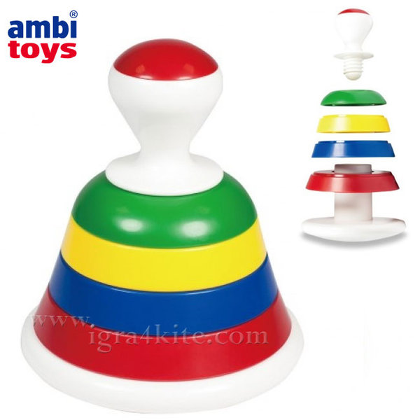 Ambi Toys - Детска низанка камбанка 31229