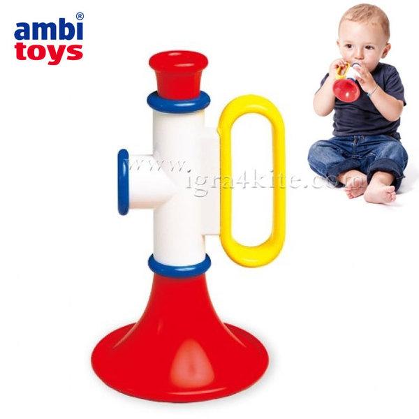 Ambi Toys - Бебешка играчка Тромпет 31202