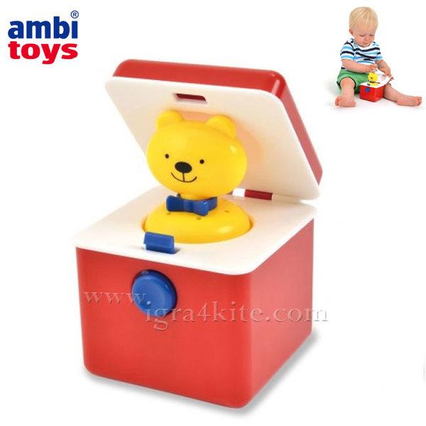 Ambi Toys - Детска играчка Изскачащо мече 31220