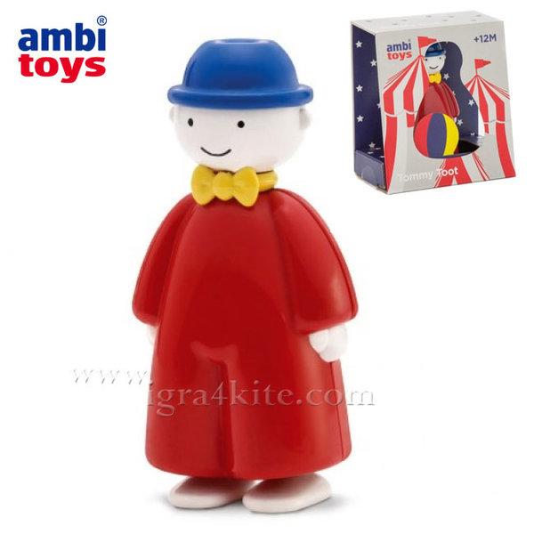 Ambi Toys - Бебешка музикална играчка Томи Тромбата 31199