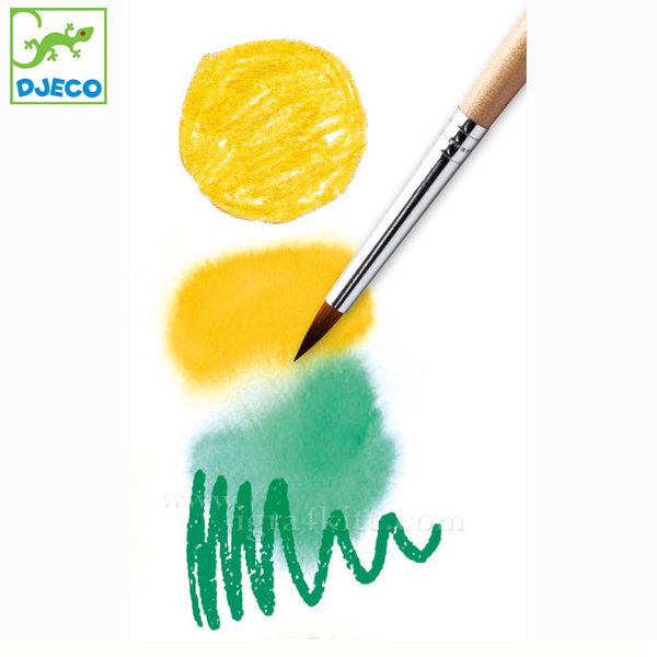 Djeco - Акварелни моливи 24 цвята DJ09754