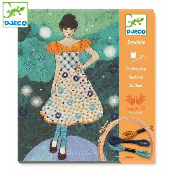 Djeco - Картини за бродиране Вечерна мода 09842