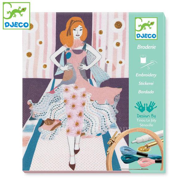 Djeco - Картини за бродиране Седмица на модата 09845