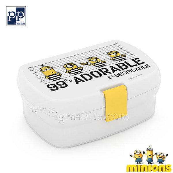 Karton P+P Minions - Кутия за закуски Миньоните 34917