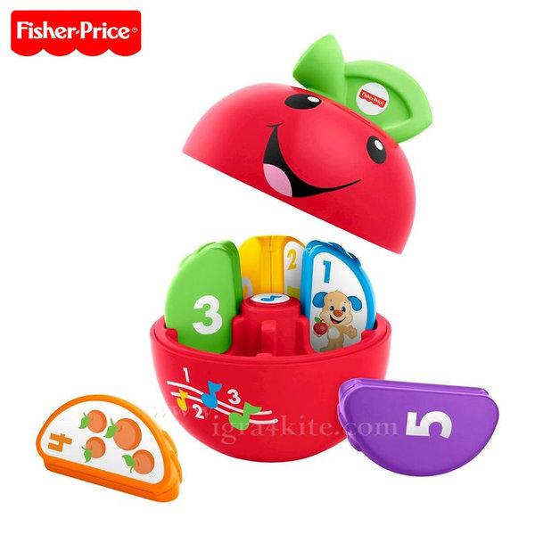 Fisher Price - Образователна играчка ябълка на български език FBR94