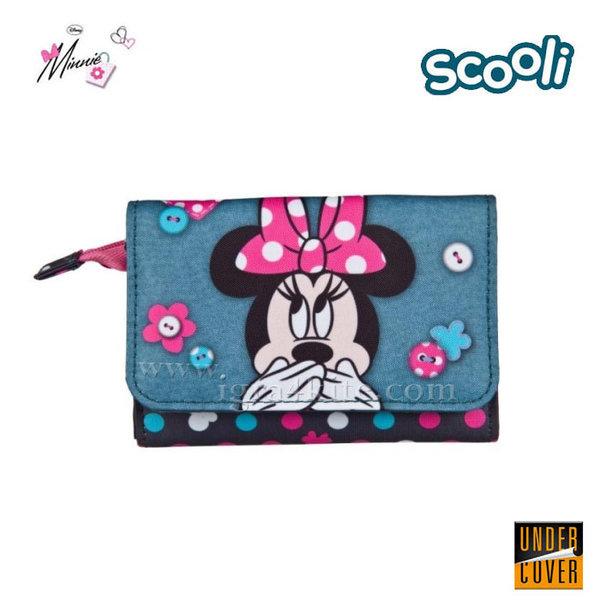 Scooli Disney Minnie Mouse - Детско портмоне Мини Маус 26561