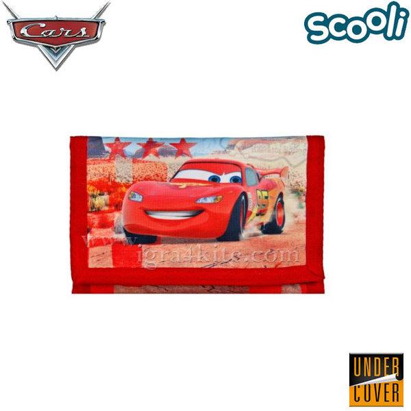 Scooli Disney Cars - Детско портмоне Дисни Колите 26671