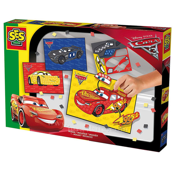 SES Creative - Disney Cars Мозайка Дисни Колите 14983
