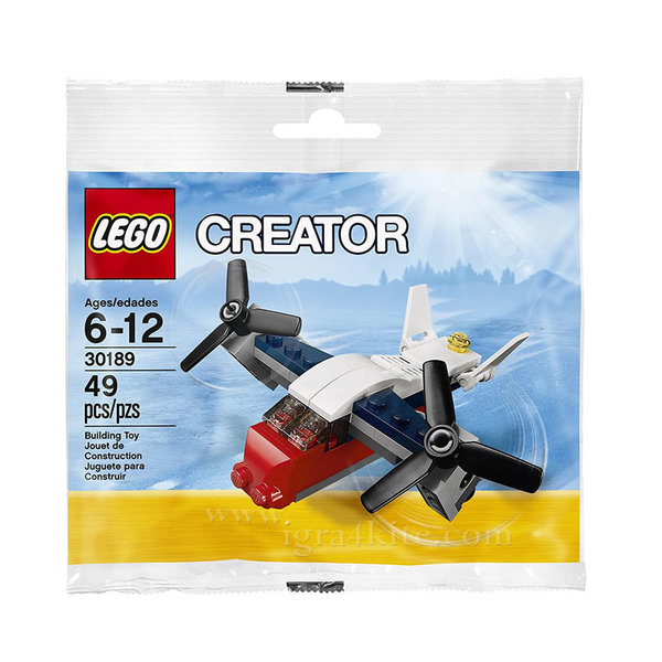 Lego 30189 Creator - Транспортер самолет