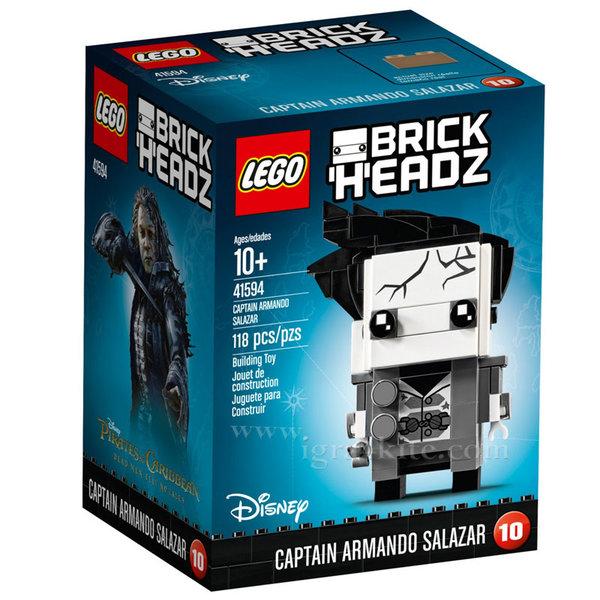 Lego 41594 BrickHeadz - Disney Капитан Армандо Салазар от Disney Карибски пирати