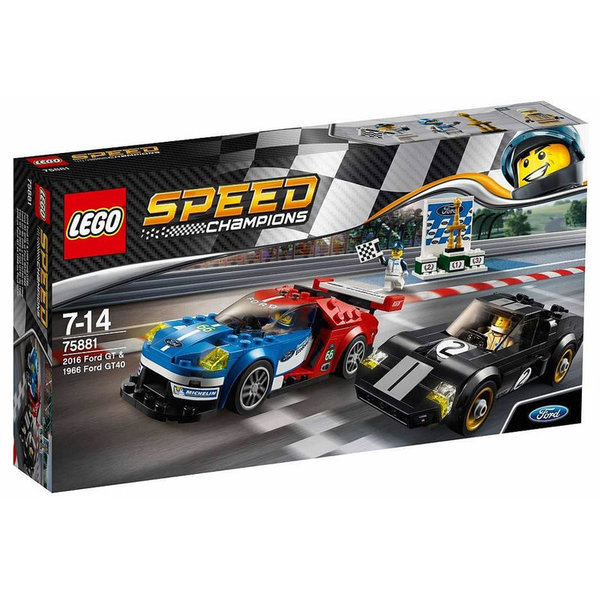 Lego 75881 Speed Champions - 2016 Форт GT и 1966 Форд GT