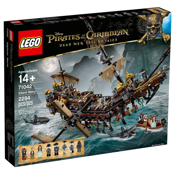 Lego 71042 Pirates of the Caribbean - Тихата Мери