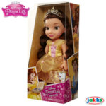 Disney Princess - Красавицата и звяра Кукла Бел с блестяща рокля 35см 99543