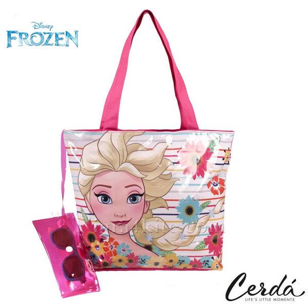 Disney Frozen - Комплект плажна чанта и слънчеви очила Замръзналото кралство 0681