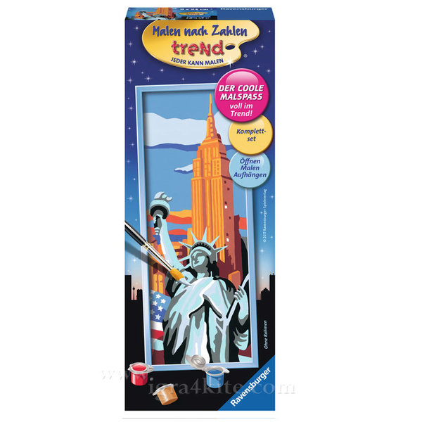 Ravensburger - Рисуване по номера 12+ Статуя на свободата 7028445