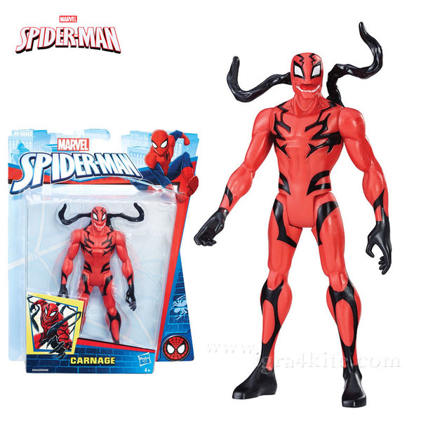 Hasbro - Spider Man Екшън фигура 15см Carnage c0440